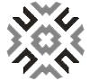 Double Diamond Flat Weave Ivory Wool Rug 38016